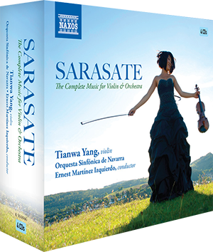 Sarasate The Complete Music for Violin and Orchestra