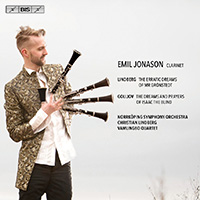Emil Jonason plays Lindberg and Golijov