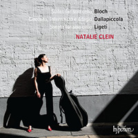 Bloch, Dallapiccola, Ligeti Suites for solo cello