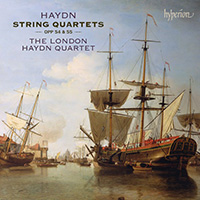Haydn String Quartets Opp 54 and 55