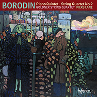 Borodin Piano Quintet and String Quartet No 2