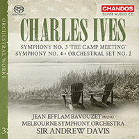 Ives Orchestral Works Vol 3