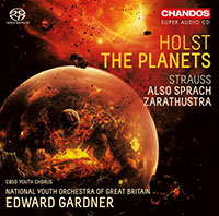 Holst The Planets, Strauss Also sprach Zarathustra